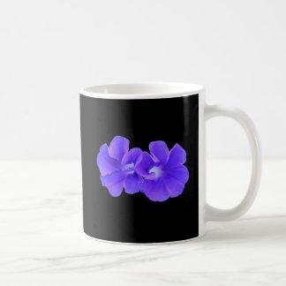 Mug, Purple Floating Morning Glories Coffee Mug