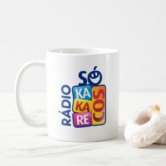 Mug Radio Alone Kakarecos Branca 325 ml