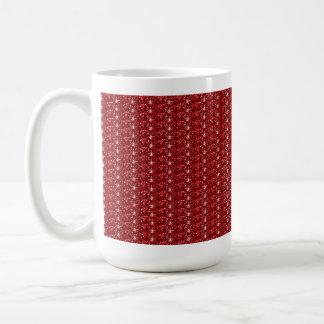 Mug Red Dark Glitter