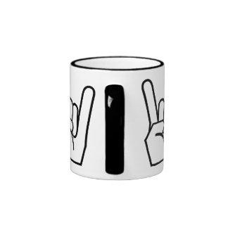 mug,rock and roll, black
