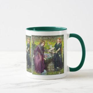 Mug: Rossetti - Dante's Vision of Rachel & Leah Mug