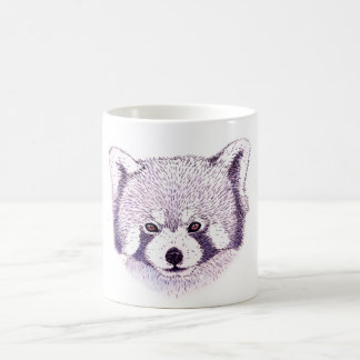 Mug russet-red panda