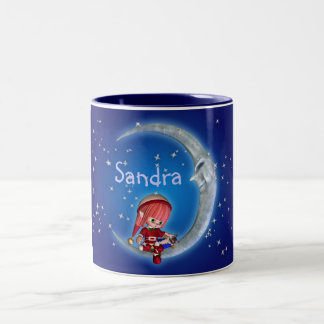 mug, Sandra, Christmas Customisable Mug Sandra