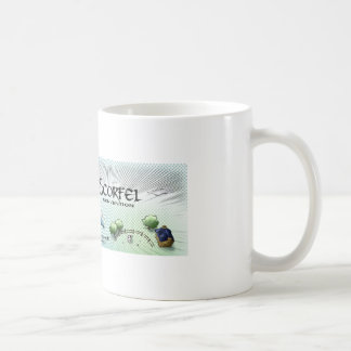 Mug Scorfel - blue dragon