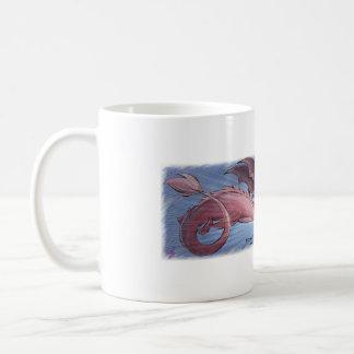 Mug Scorfel - dragon pink