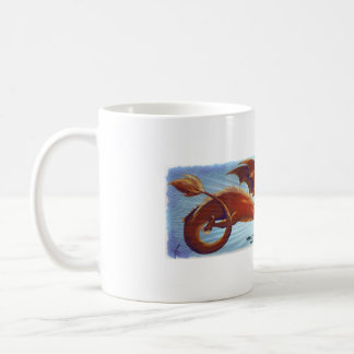 Mug Scorfel - dragon red