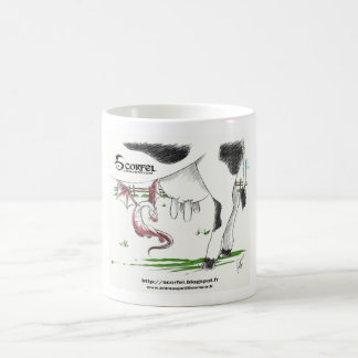 Mug Scorfel worse of cow