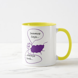 Mug: Seamus the Sheep Says... Bright Side Mug
