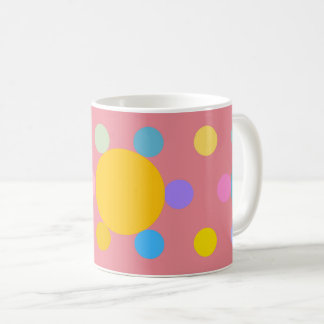 """Mug small size, pink, """"stylized Fleur Pastel """""""