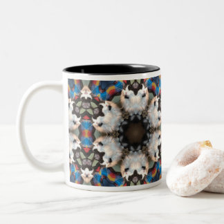 MUG - Smooth Operator Cat Kaleidoscope Design
