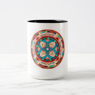 Mug, southwestern native american coffee cup