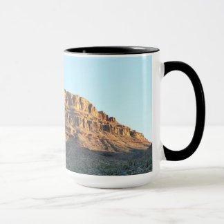 Mug Spirit Mountain with black rim