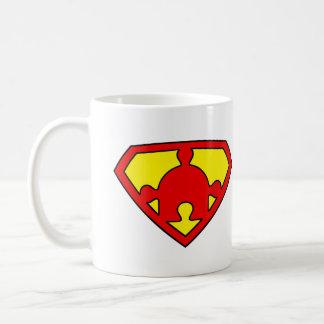 Mug Super Autismo Puzzle