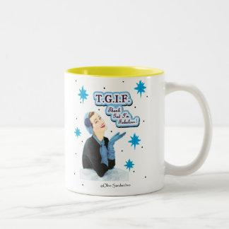 """Mug - """"T.G.I.F."""""""