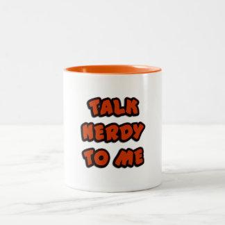 Mug TALK NERDY
