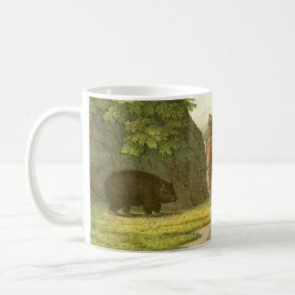 Mug - Tasmanian Tigers and Wombat