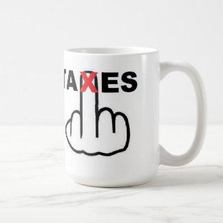 Mug Taxes Too High