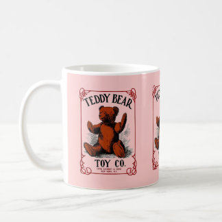 MUG ~ TEDDY BEAR TOY CO VINTAGE ADVERTISING!