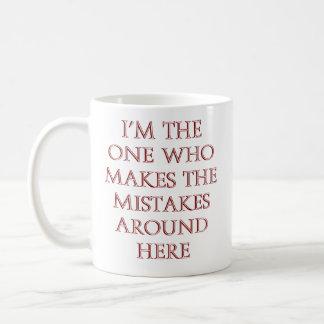 MUG: The Great Mistake Master Coffee Mug