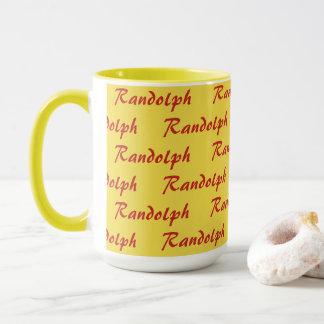 Mug - Tiled Name in Script