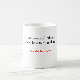 Mug - training to do nothing