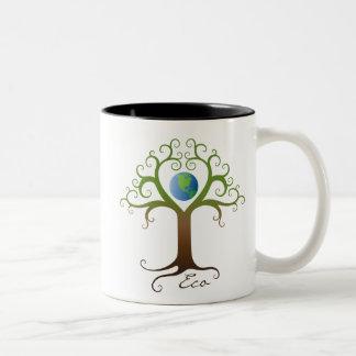 Mug: Tree with planet earth