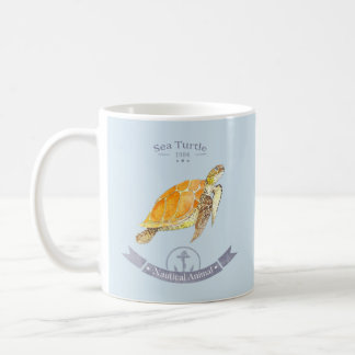 Mug Turtle-Navy | Sea Turtle