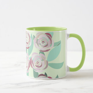 Mug Vitral Bouquet of Roses