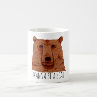 Mug Wanna Be has Bear