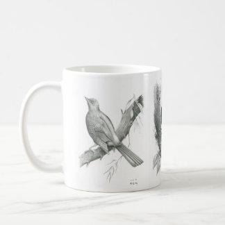 Mug with 3 Cambodian Birds by Vannak Anan Prum