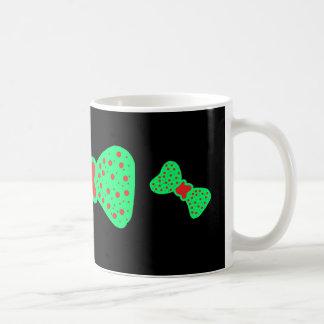 Mug with a green bows
