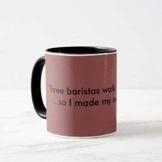 Mug with a slogan