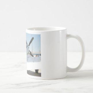 Mug with airplane