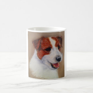 Mug with an image of a Jack Russell Terrier