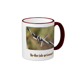 Mug with Barbed Wire Design