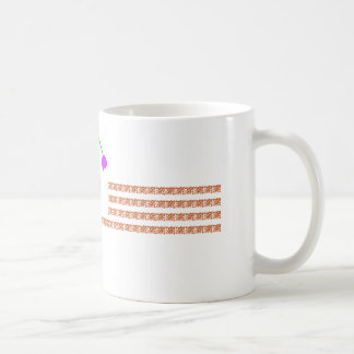 Mug with bell flower...