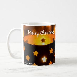 Mug with Christmas Candlelights