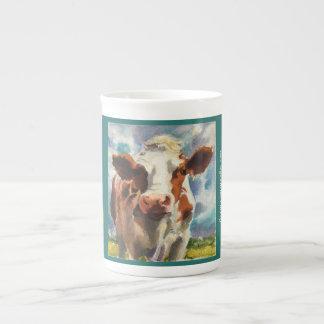 Mug with Cow watercolor