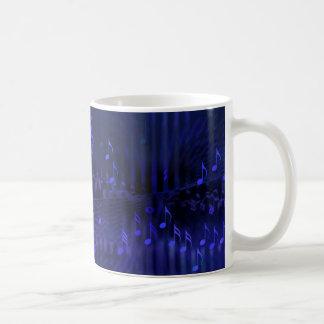 Mug with Digital Art Musical Decor - Concert Hall