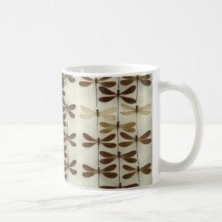 Mug with dragonflies