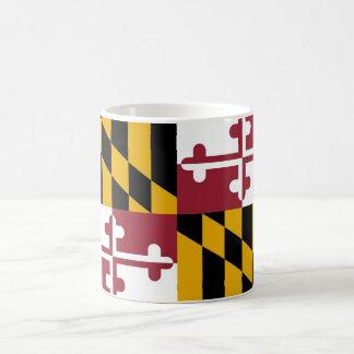 Mug with Flag of Maryland State - USA