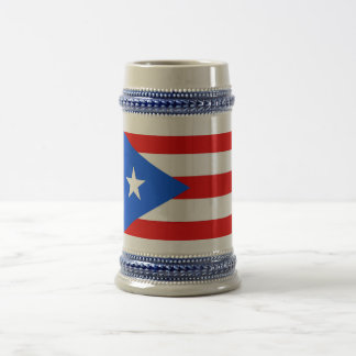 Mug with Flag of Puerto Rico -USA