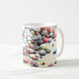 Mug with image of Stones from Lake Superior
