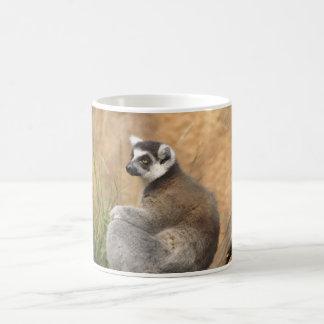 mug with lemur