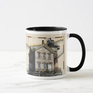 Mug with lighthouses 1, Hudson-Athens & Saugerties