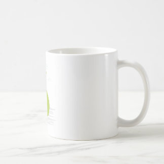 Mug with man and money bag