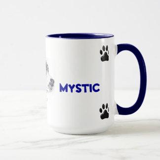 Mug with mixed Breed dog