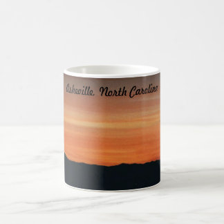 Mug with Mountain Sunset Scene