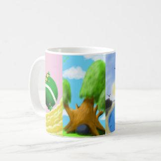 Mug with paintings