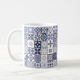 Mug with Portugese Tiles Pattern - Azulejos